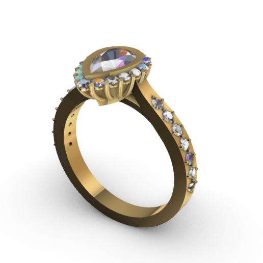 Screenshot_1.png Download free STL file Beautifull Ring Pear • 3D printable template, GENNADI3313
