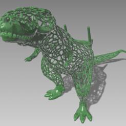 rex1.png Download STL file Rex cell phone holder • 3D printer template, GENNADI3313