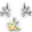 Download 3D print files Swallows, GENNADI3313