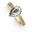 Screenshot_6.png Download free STL file Beautifull Ring Pear • 3D printable template, GENNADI3313