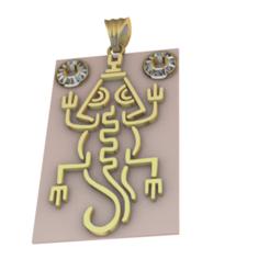 Télécharger fichier imprimante 3D gratuit Iguane ancestral - Mexique, Eulitec-Sotov