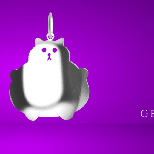 Screenshot_1.png Download free STL file  Chubby cat • 3D printer model, GENNADI3313