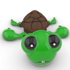 Screenshot_6.png Download STL file Baby Flex Turtle • 3D print design, GENNADI3313