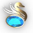 Screenshot_1.png Download free STL file Swan JEWEL • 3D printer object, GENNADI3313