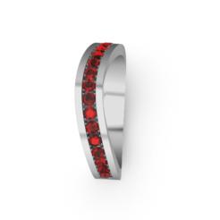 Download STL files Curved ring, GENNADI3313