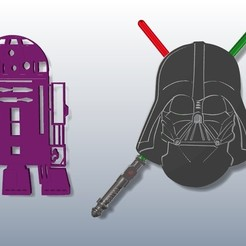 1.jpg Download STL file Star Wars Cup Holder • 3D printer model, GENNADI3313