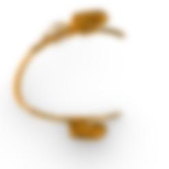 octopus cuff.stl Télécharger fichier STL gratuit Bracelet de pieuvre • Plan à imprimer en 3D, GENNADI3313