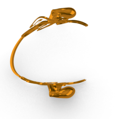 Download free STL file  Octopus cuff bracelet • Object to 3D print, GENNADI3313