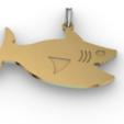 Download free 3D printer designs Shark pendant, Eulitec-Sotov