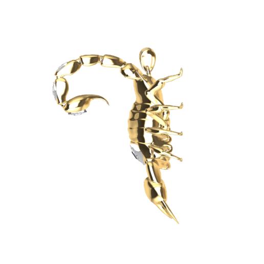 Screenshot_1.png Download free STL file Said Scorpion charm • 3D printing object, GENNADI3313
