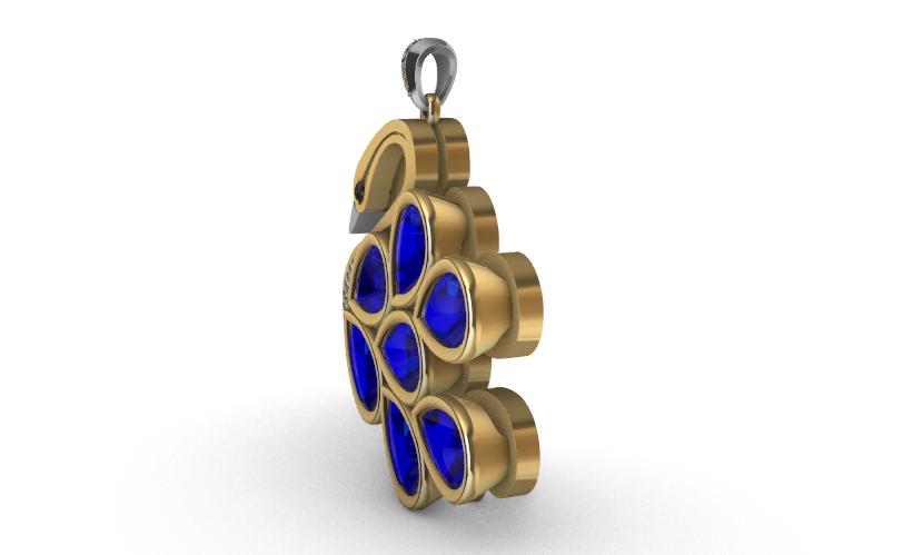 Screenshot_4.png Download free STL file Precioso colgante de Cisne • 3D printer object, GENNADI3313