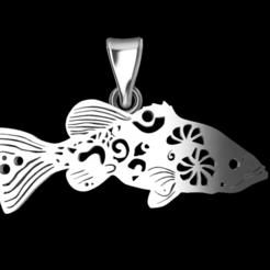 1.png Download STL file Fish • Template to 3D print, GENNADI3313