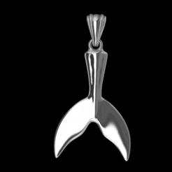 Screenshot_4.png Download STL file Whale Tail • 3D printable model, GENNADI3313
