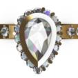 Screenshot_2.png Download free STL file Beautifull Ring Pear • 3D printable template, GENNADI3313