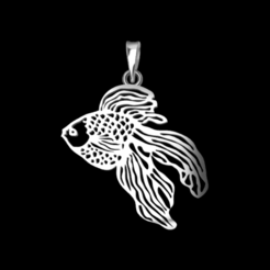 Screenshot_2.png Download STL file Fish Pendant • 3D print model, GENNADI3313