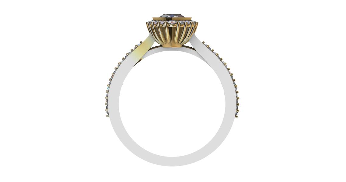 Screenshot_3.png Download free STL file Beautifull Ring Pear • 3D printable template, GENNADI3313