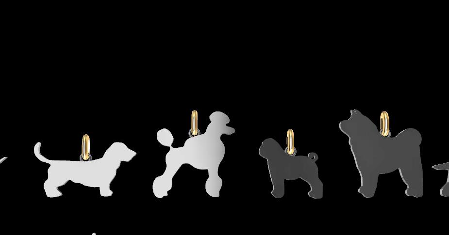 Screenshot_6.png Download STL file Dogs • 3D printing object, GENNADI3313