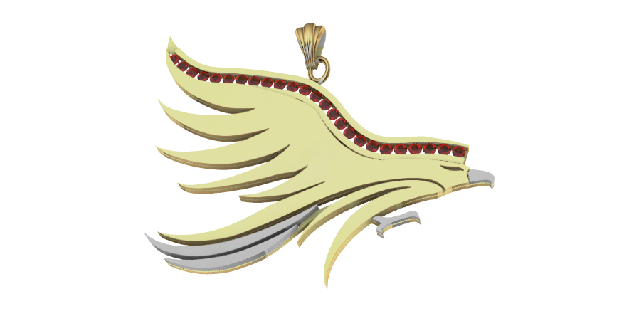 Screenshot_4.png Download free STL file Lurking eagle • Template to 3D print, GENNADI3313