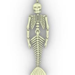 Descargar archivos 3D  flexible mermaid skeleton, Eulitec-Sotov