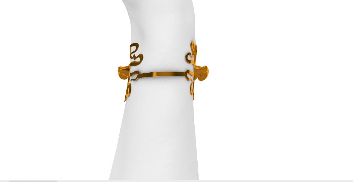 Screenshot_8.png Télécharger fichier STL gratuit Bracelet de pieuvre • Plan à imprimer en 3D, GENNADI3313
