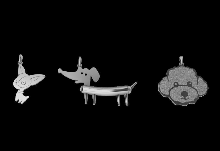Screenshot_2.png Download STL file Dogs • 3D printing object, GENNADI3313