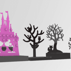 Screenshot_4.png Download STL file  Jewelry holder   7 designs • 3D printing template, GENNADI3313