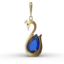 Télécharger fichier STL gratuit Cygne • Design imprimable en 3D, GENNADI3313
