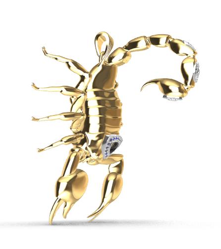 Screenshot_3.png Download free STL file Said Scorpion charm • 3D printing object, GENNADI3313