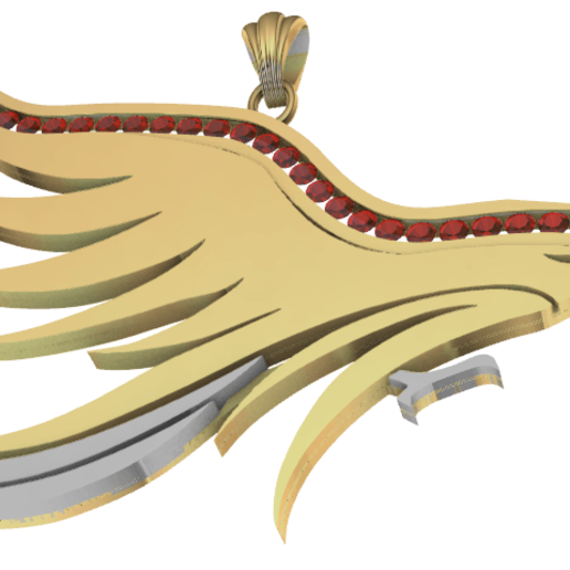 Screenshot_3.png Download free STL file Lurking eagle • Template to 3D print, GENNADI3313