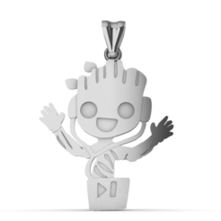 Screenshot_1.png Download STL file Groot • 3D printable model, GENNADI3313