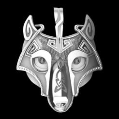 Download 3D model wolf viking, GENNADI3313