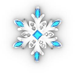 Screenshot_1.png Download STL file  Snowflake • 3D print template, GENNADI3313