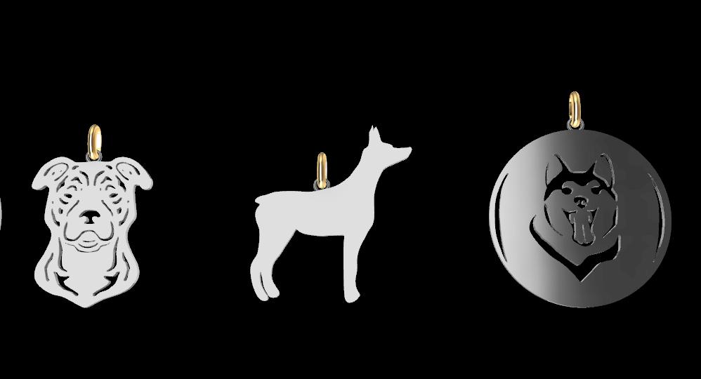 Screenshot_4.png Download STL file Dogs • 3D printing object, GENNADI3313
