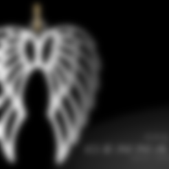 Download 3D printing templates Wings pendant, Eulitec-Sotov