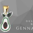 Screenshot_2.png Download free STL file  Avocado gem • 3D printable object, GENNADI3313