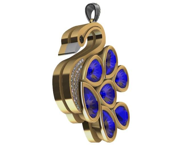 Screenshot_3.png Download free STL file Precioso colgante de Cisne • 3D printer object, GENNADI3313