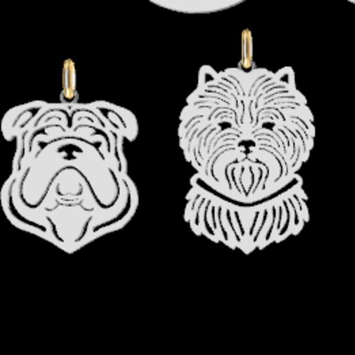 Screenshot_11.png Download STL file Dogs • 3D printing object, GENNADI3313