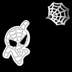 Download 3D printing templates Spider-Man Pendant, Eulitec-Sotov