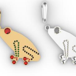 Screenshot_1.png Download free STL file Frog Jewelry • 3D printable design, GENNADI3313