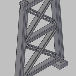 Screen Shot 06-16-20 at 06.56 PM 001.jpg Download free STL file HO scale iron pillar Bridge • 3D printing template, carlocaponord