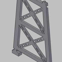 Screen Shot 06-17-20 at 11.31 AM.jpg Download free STL file HO scale iron pillar Bridge in two parts • 3D printable model, carlocaponord
