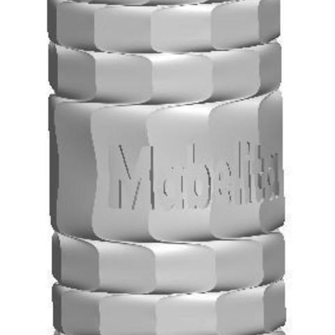 Télécharger modèle 3D gratuit PORTE-CRAYON MABELITE. VASO. ORNEMENT, kim3d