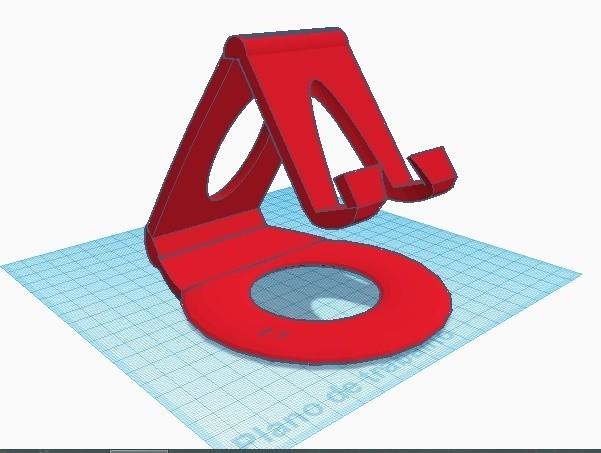 cats.jpg Download STL file mobile phone base • 3D print design, brendonlaion2