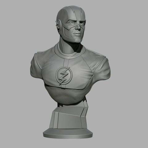 Descargar archivos 3D gratis relámpago de busto, cobal