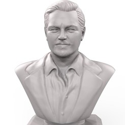 Download free STL file Bust Leonardo DiCaprio, cobal