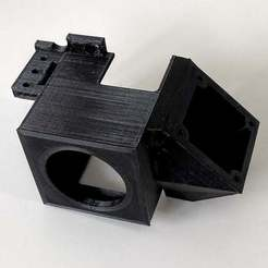 IMG_3541.jpg Download free STL file Ender 3 dual 40mm fan hot end cooling shroud with BLTouch mount • 3D print model, neo2478