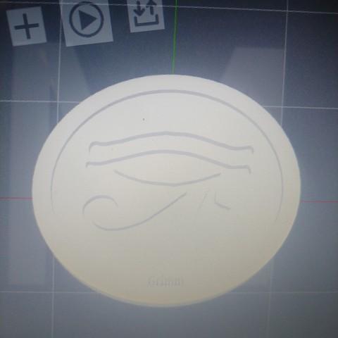 3D printer files Eye of Ra, Stargate,RA,Token, Coin, Medallion, grimmsblades