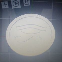3d printer files Eye of Ra, Stargate,RA,Token, Coin, Medallion, grimmsblades
