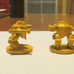 3D printing model Scythe Hopper Mech, benwax10