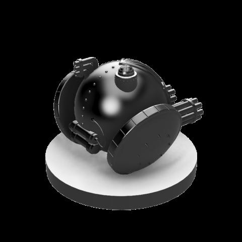 Scythe Roller Mech v4.1.png Download STL file Scythe Roller Mech • 3D printable template, benwax10